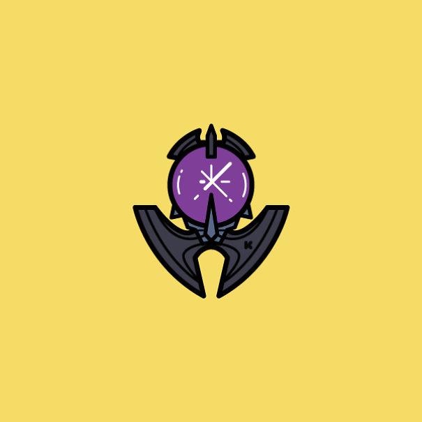Fortnite Ominous Orb Backpack