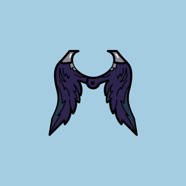 Fortnite Dark Wings Backpack