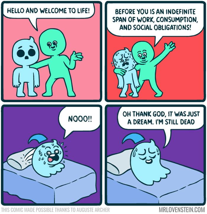 Image of: Mr Lovenstein Funnycomicsmrlovenstein Memebase Cheezburger 20 Brutally Funny Comics For People Who Like Dark Humor new Pics
