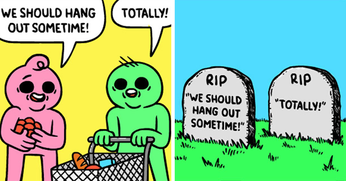 42+ Brutally Hilarious Comics For People Who Like Dark Humor (New Pics)