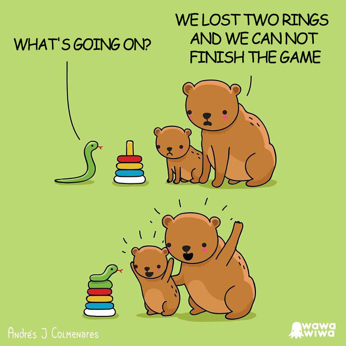 What's Going On? ... We Lost Two Rings And We Can Not Finish The Game
