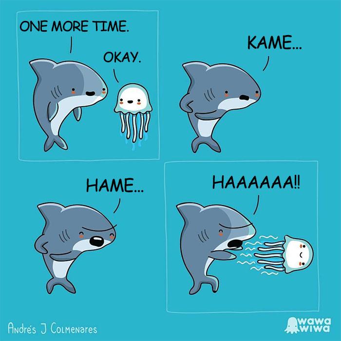One More Time. ... Okay. ... Kame ... Hame ... Haaaaaa !!