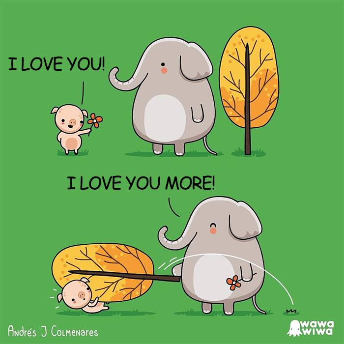 I Love You! ... I Love You More!