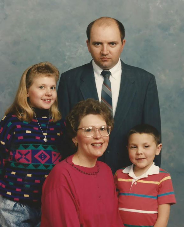 My Turn! 1993 And No, My Dad Never Smiles