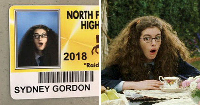 High School Lets Seniors Wear Costumes For Their Student ID Pics, Ace This Year (65 Pics)