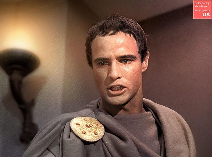 Marlon Brando As Marc Antony, 1953