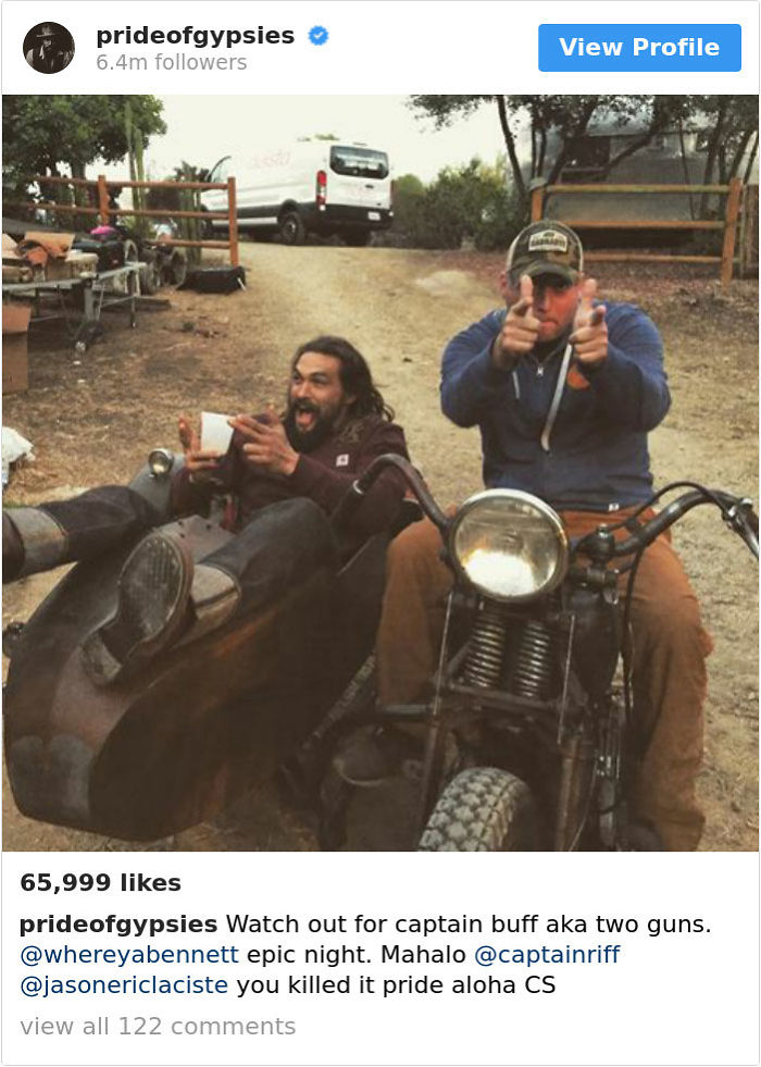 23 Times Jason Momoa Was The Coolest Guy On Instagram ...Jason Momoa Instagram