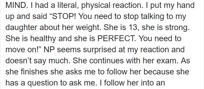 Mom Goes Viral For Calling Out Nurse Who 'Body-Shamed' 13-Year-Old Daughter, But Many People Disagree