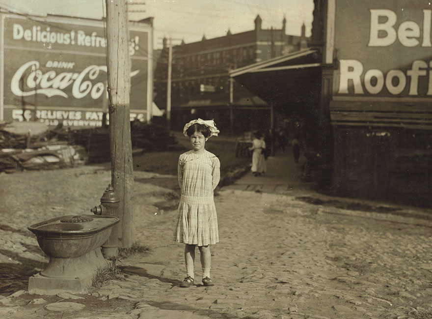 Ethel Shumate. Has Been Rolling Cigarettes In Danville (Va.) Factory For Six Months. Said She Was Thirteen Years Old, But It Is Doubtful. Location: Danville, Virginia
