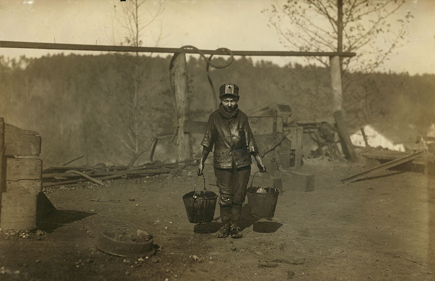 A Greaser In A Coal Mine. See 1835. Location: Bessie Mine, Alabama