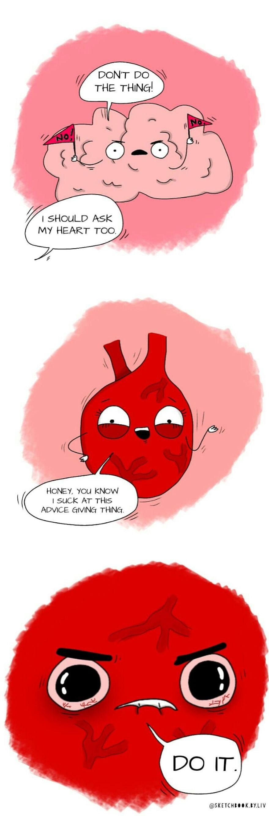 Heart Or Brain?