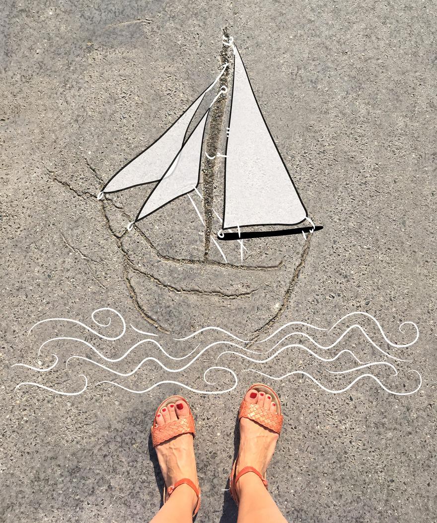The Sailing Boat