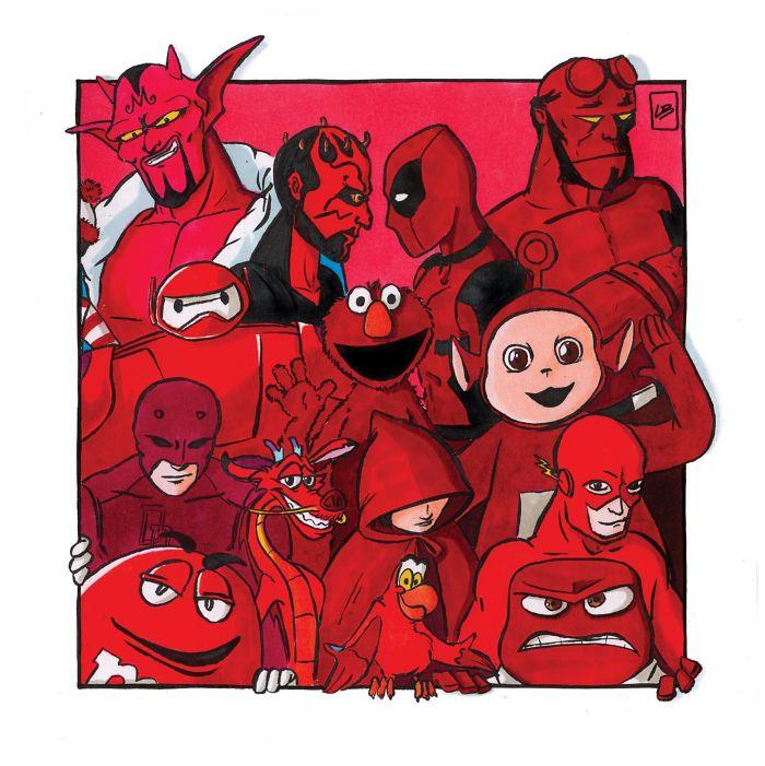Equipo rojo