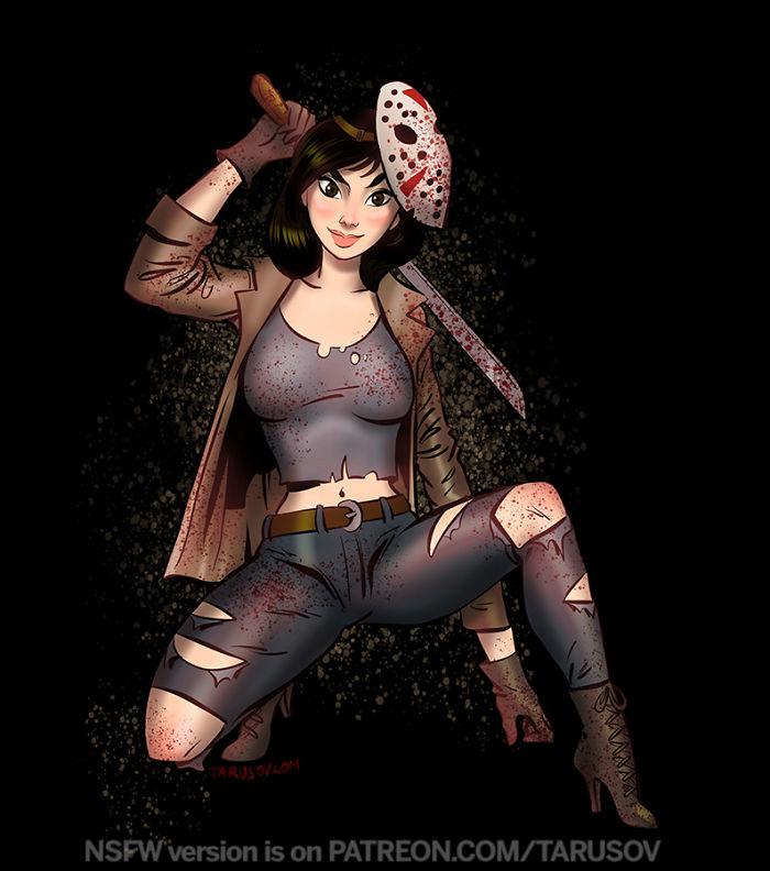 Jason From The Friday 13th – Mulan