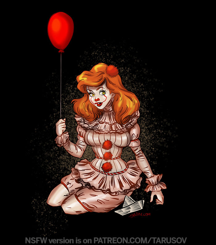 Pennywise From It – Ariel
