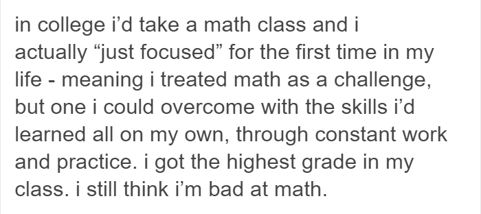 This Woman Blamed The School System For Failing A Math Test, But Not Everyone Agrees