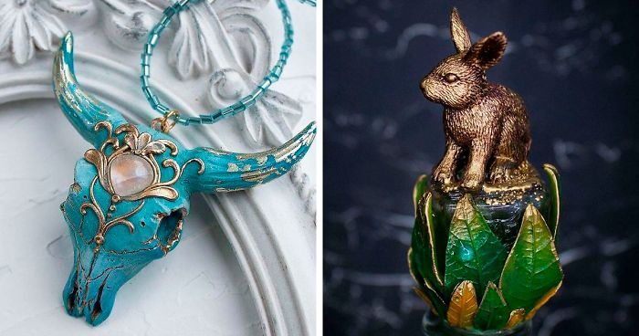 These 23+ Jewelry Pieces Look Like They Hide Mysteries Of Other Worlds