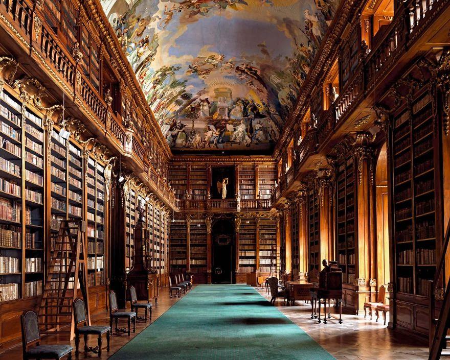 Strahov Monastery Library, Prague, Czech Republic