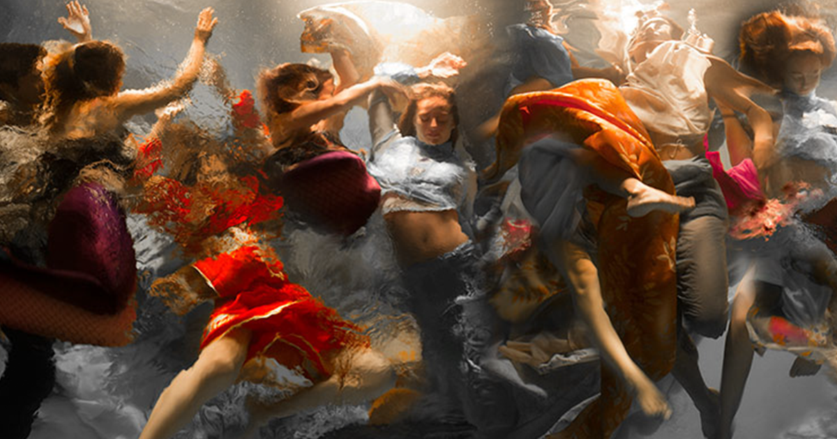 These 15  Stunning Underwater Photos By Christy Lee Rogers Look Like Dramatic Baroque Paintings