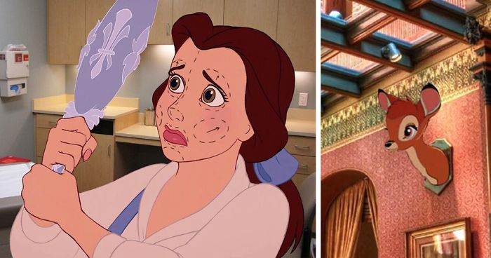 This Artist Created Unhappy Endings To Disney Movies, And The Result Will Ruin Your Childhood