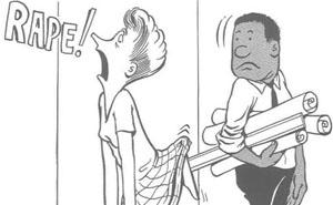 Este Chico Negro Dibujó Cómo Fue Ser El Único Hombre Negro En La Oficina En Los Años 60 Y Es Peor De Lo Que Imaginabas