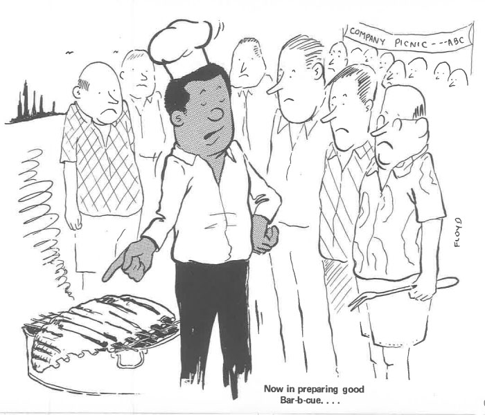 vintage comics black man office integration tom floyd100 5b9a08f71586d  700 - This Black Man Drew What It Was Like Being The Solely Black Man In A White Workplace In The 60s, And It's Worse Than You Suppose