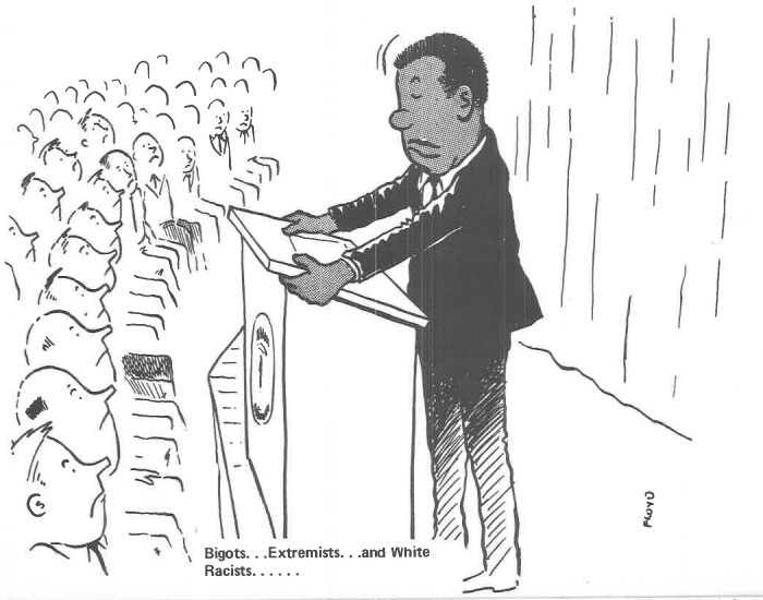 vintage comics black man office integration tom floyd105 5b9a0901af18a  700 - This Black Man Drew What It Was Like Being The Solely Black Man In A White Workplace In The 60s, And It's Worse Than You Suppose