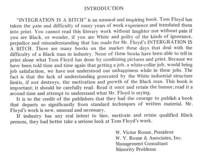 vintage comics black man office integration tom floyd110 - This Black Man Drew What It Was Like Being The Solely Black Man In A White Workplace In The 60s, And It's Worse Than You Suppose