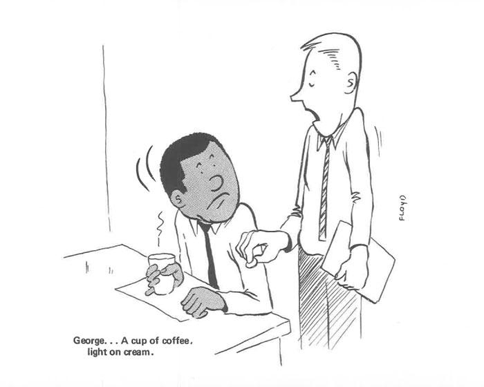 white collar worker