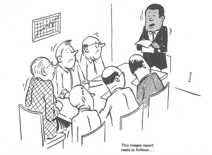 vintage comics black man office integration tom floyd87 5b9a08d7553a4  700 - This Black Man Drew What It Was Like Being The Solely Black Man In A White Workplace In The 60s, And It's Worse Than You Suppose