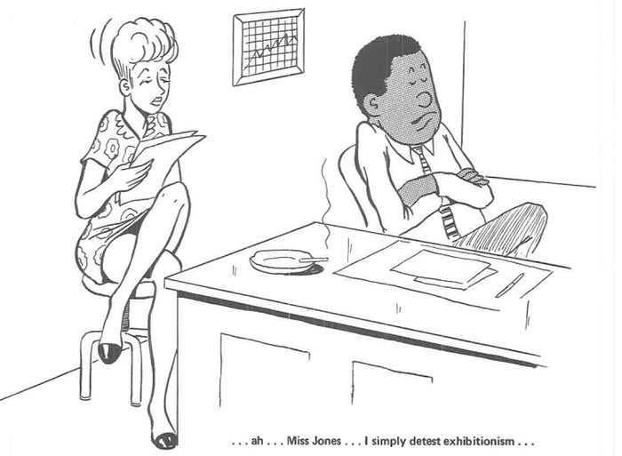 vintage comics black man office integration tom floyd89 5b9a08dbe5169  700 - This Black Man Drew What It Was Like Being The Solely Black Man In A White Workplace In The 60s, And It's Worse Than You Suppose