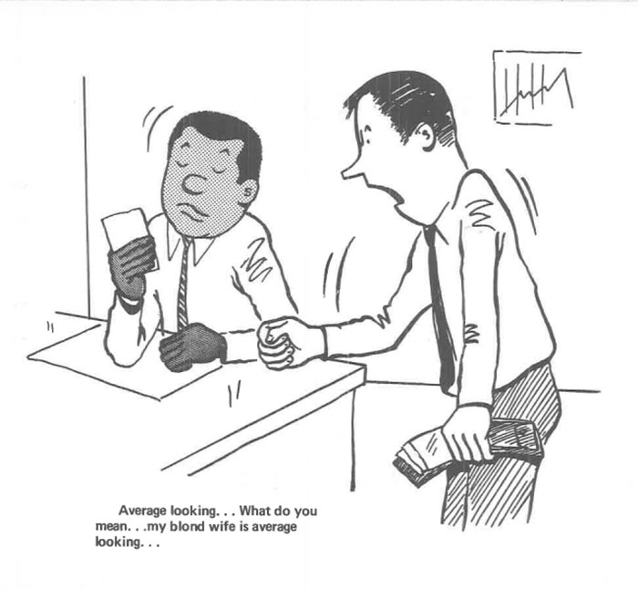 vintage comics black man office integration tom floyd93 5b9a08e5ea958  700 - This Black Man Drew What It Was Like Being The Solely Black Man In A White Workplace In The 60s, And It's Worse Than You Suppose