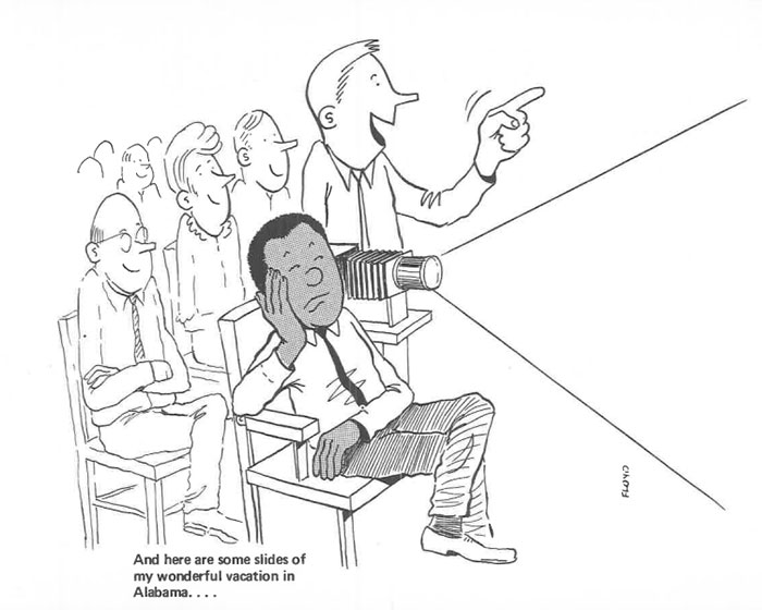 vintage comics black man office integration tom floyd95 5b9a08eb2816c  700 - This Black Man Drew What It Was Like Being The Solely Black Man In A White Workplace In The 60s, And It's Worse Than You Suppose