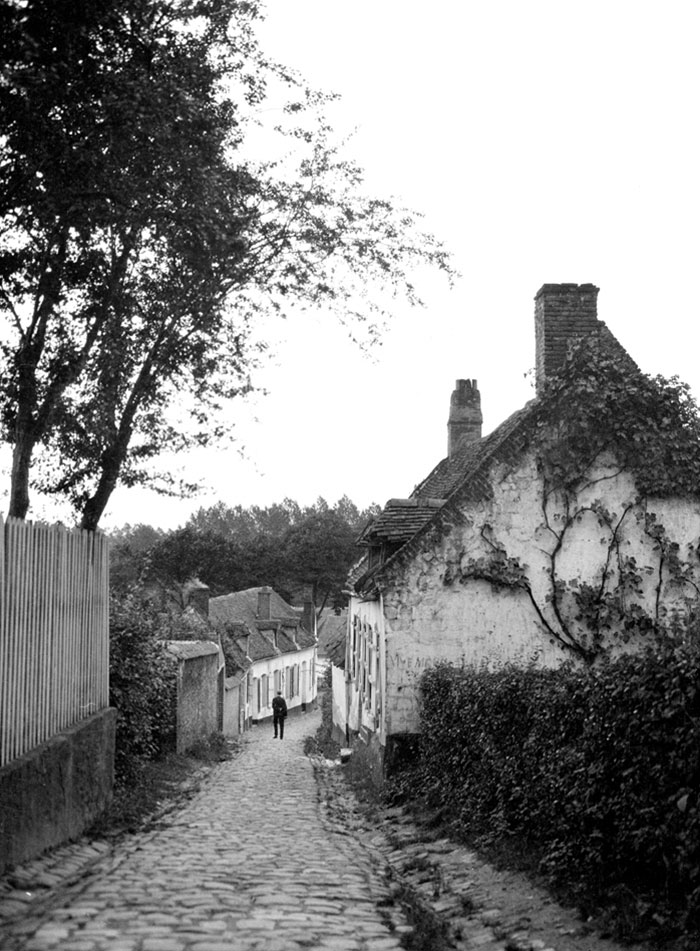 Old Street, Possibly Montreuil-Sur-Mer