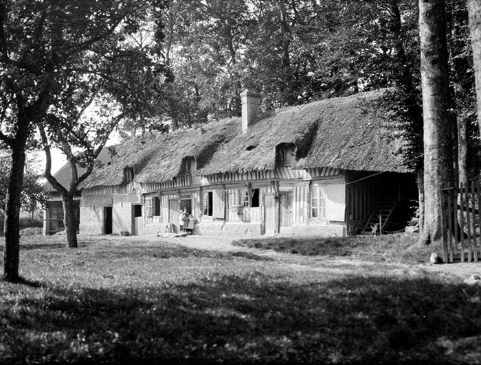 Farm Buildings, Normandy, France
