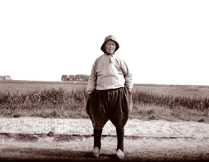 Old Fisherman, Netherlands