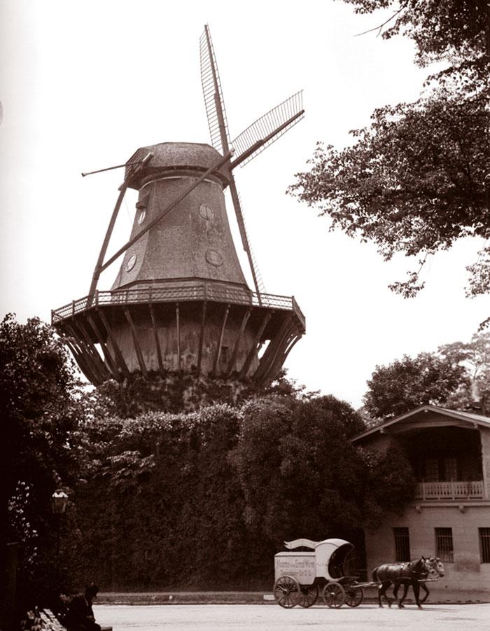 Replica Windmill, Sans Souci Park, Potsdam, Germany