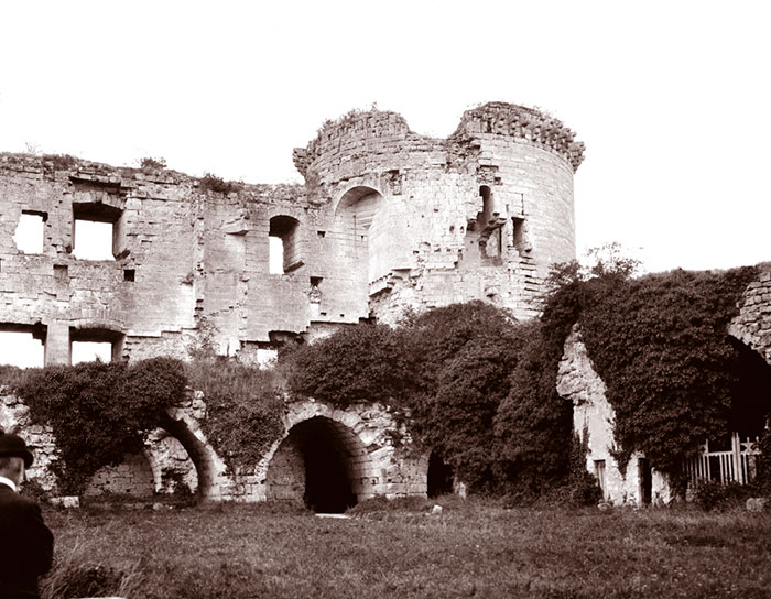 Chateau De Coucy In 1904, France