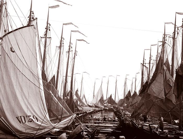 Fishing Boats, Volendam, Netherlands