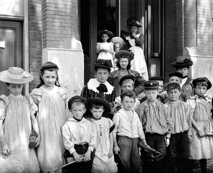 School Children, Netherlands