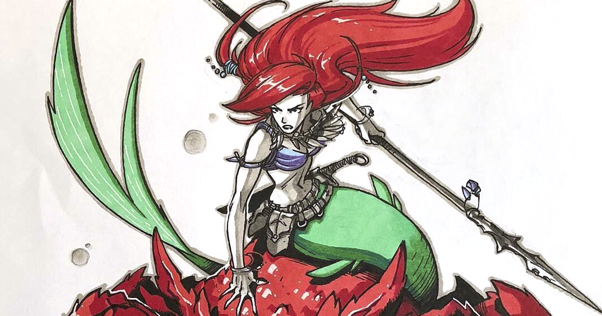 These 11 Disney Princesses Reimagined As Warriors Look Absolutely Badass