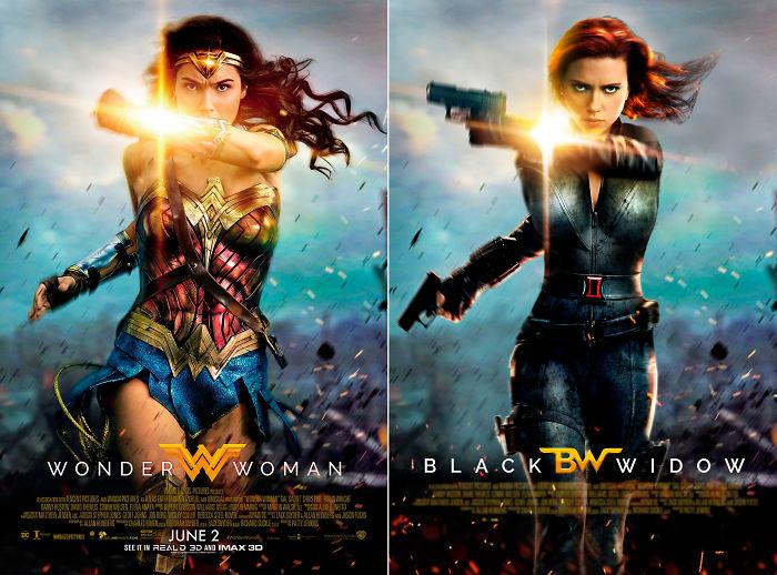 """Black Widow In """"Wonder Woman"""""""