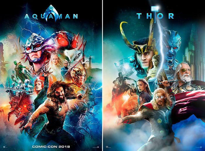"""Thor In """"Aquaman"""""""