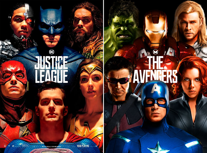 "Avengers In ""Justice League"""