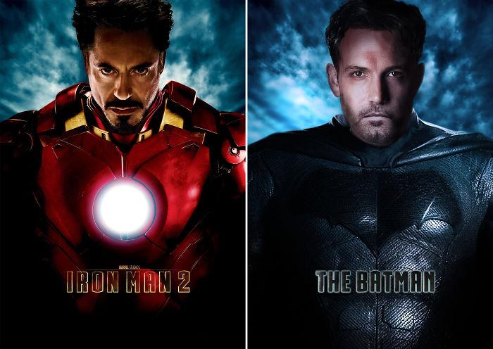 "Batman In ""Iron Man"""