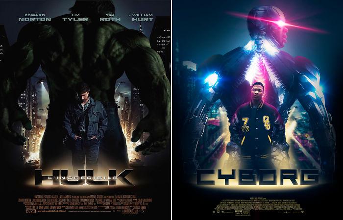 "Cyborg In ""Hulk"""