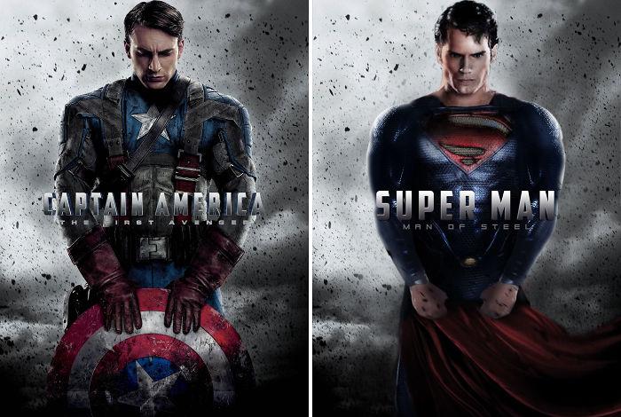 "Superman In ""Captain America"""