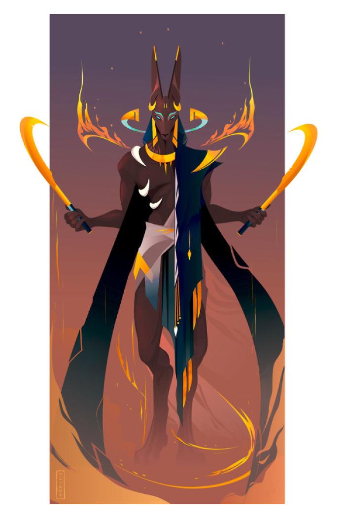 Anubis – God Of Death (Ii)