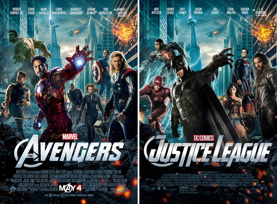 "Justice League In ""Avengers"""