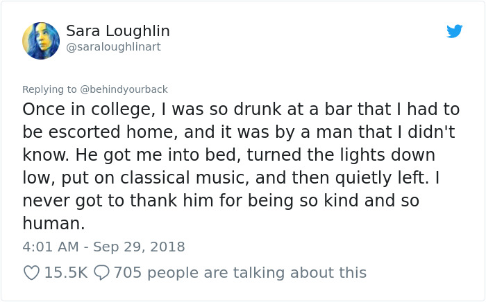 Woman Tweets About All The Times Men Didn't Rape Her To Teach A Lesson On Consent